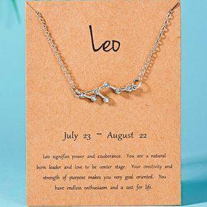 Jewelry - Leo Zodiac Sign Constellation Necklace BMSM